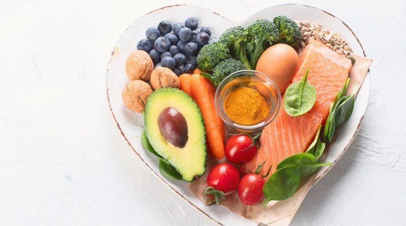 las instrucciones para llevar una dieta saludable.